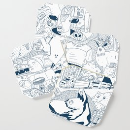 The Infinite Drawing Coaster