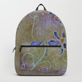 Three Flowers Backpack