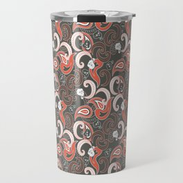 Rocking Orient Grey Travel Mug