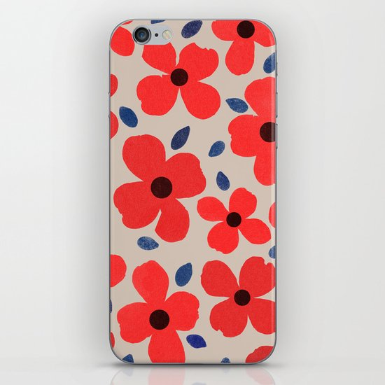 dogwood 5 iPhone & iPod Skin