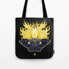 Moths to a Flame Tote Bag