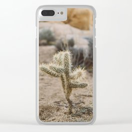 Joshua Tree National Park XVI Clear iPhone Case