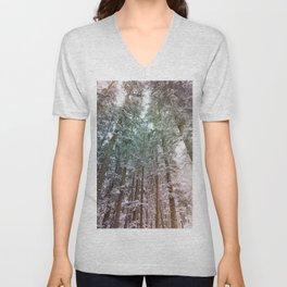 tree wonderland Unisex V-Neck