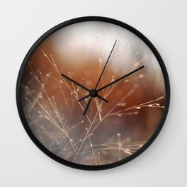 Nature Sparkles Wall Clock