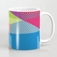 dots Mugs featuring Dots by Joe Van Wetering