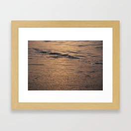 calm water Framed Art Print