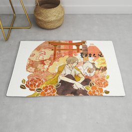 Takashi Natsume, Quiet Flowers Rug
