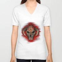 diablo V-neck T-shirts featuring Diablo by Digital Dreams