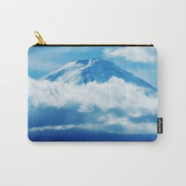 Mount Fuji Peaking Through Cloud Carry-All Pouch