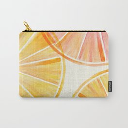 Sunny Citrus Carry-All Pouch