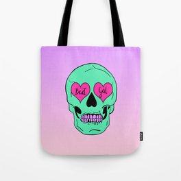 Bad Gal Skull Tote Bag