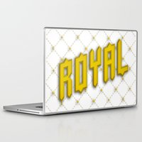 royal Laptop & iPad Skins featuring Royal by Tyler Shaffer