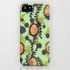 Hedgehog pattern iPhone (5, 5s) Slim Case