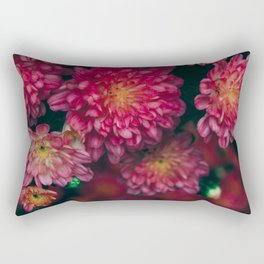 Autumn Vibes - Boho Rose Flowers Rectangular Pillow