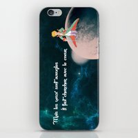 le petit prince iPhone & iPod Skins featuring Le Petit Prince by SmallWheel