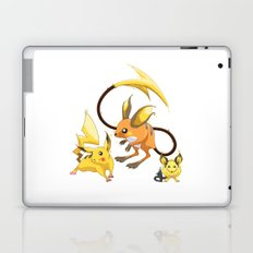 Electric Mouse Evolution Laptop & iPad Skin