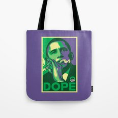 the dopest president Tote Bag