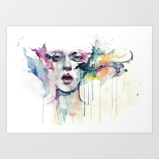 learn to bloom Art Print