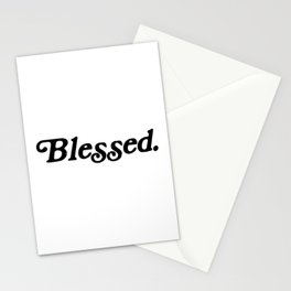 Old School Blessed Stationery Cards