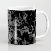 budapest Mugs featuring Budapest by Line Line Lines
