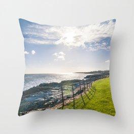 Irish landscape Throw Pillow