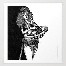 SALOME Art Print