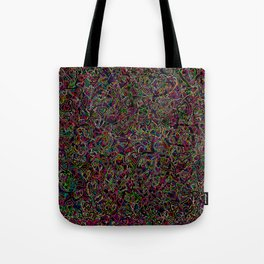 2 edged hearts Tote Bag