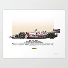 #5 LOLA - 1993 - T9300 - Mansell Art Print
