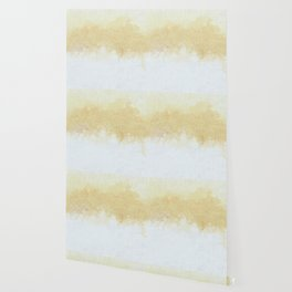 Textured Neutral white and Tan Abstract Wallpaper