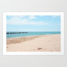 AFE Toronto Island Beach4 Art Print