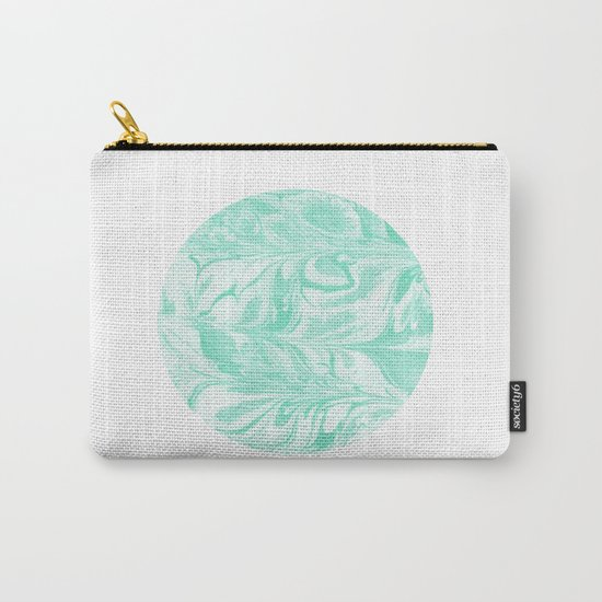 Ryota - spilled ink abstract marble circle trendy must have gift for dorm college student life paint Carry-All Pouch