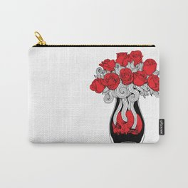Death & Roses Carry-All Pouch