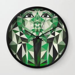 Ghost of Tutankhamun Wall Clock