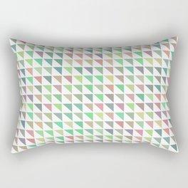 edge of autumn geometric pattern Rectangular Pillow