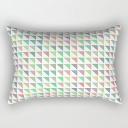 edge of autumn geometric pattern Rectangular Pillow