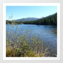 Bear Lake, Rock Mtn National Park Art Print