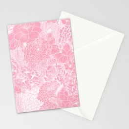 Peach Petals Stationery Cards