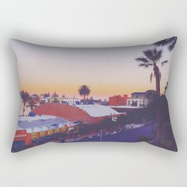 Old Town Twilight Rectangular Pillow
