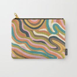 Rainbow Marble Carry-All Pouch
