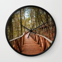Path at forest Wall Clock