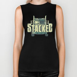 Roll Coal Diesels Stacked Truck Semi Biker Tank