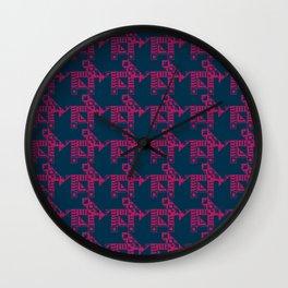 tribal life Wall Clock