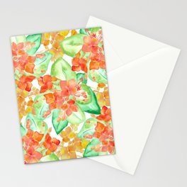 Succulent flowers Stationery Cards