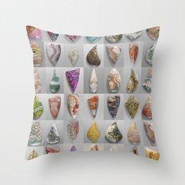 Agate Montage Throw Pillow
