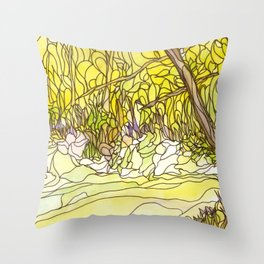 Eno River 27 Throw Pillow
