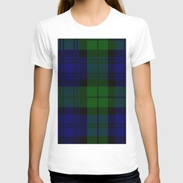 Scottish Campbell Tartan Pattern-Black Watch #2 T-shirt
