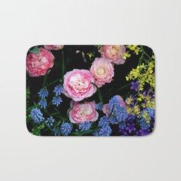 Mixed Flowers Bath Mat