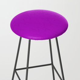 Electric Violet Bar Stool