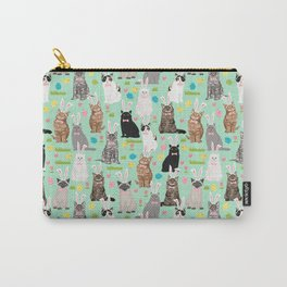 Cat easter bunny spring cute cat breeds cat lady kittens pattern Tasche