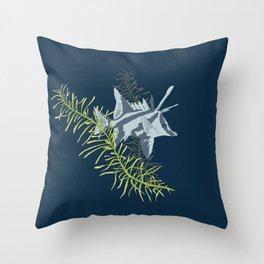 Seaweed Graphics Boarfish Throw Pillow